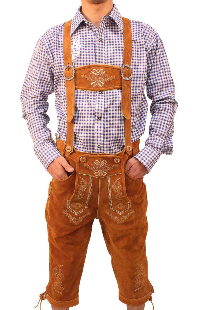 Brown-Lederhosen