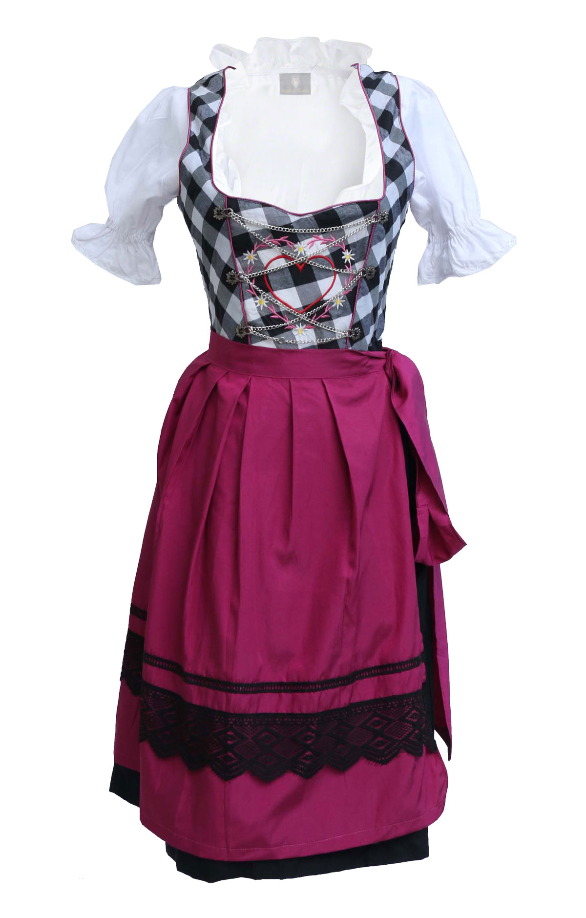 spieth wensky dirndl anna black lederhosen store. Black Bedroom Furniture Sets. Home Design Ideas