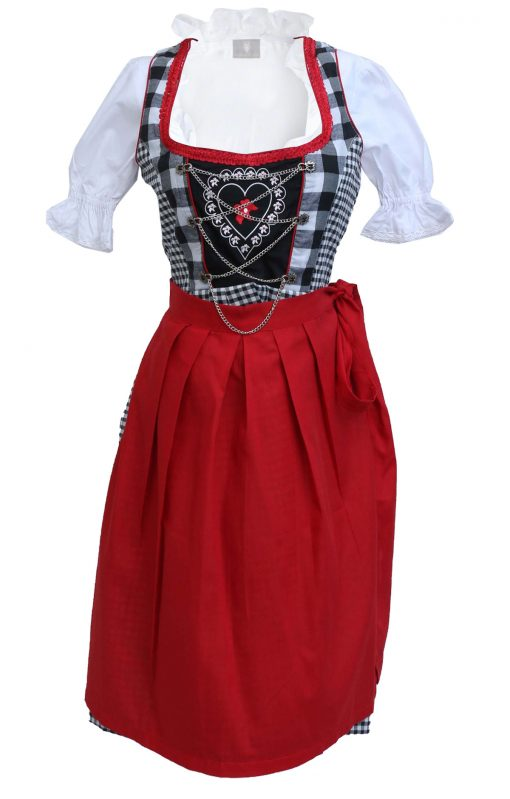 Red Dirndl Dress Oktoberfest