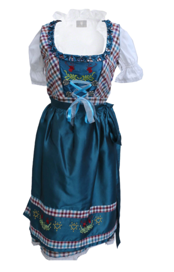 BLue Dirndl Dress Oktoberfest German
