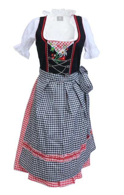 PInk Dirndl Dress Oktoberfest German
