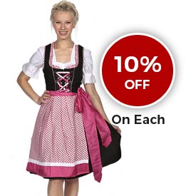 Dirndl Dresses on Sale - Lederhosen Store