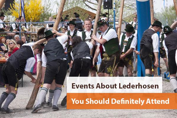Events About Lederhosen