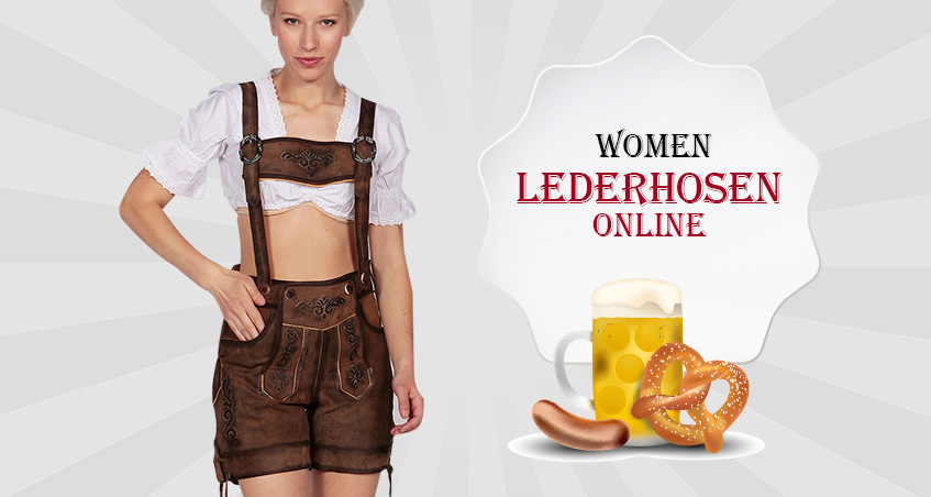 Lederhosen for Women Online