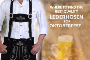 Oktoberfest Lederhosen