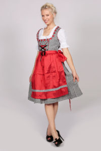 Red Dirndl German Dress