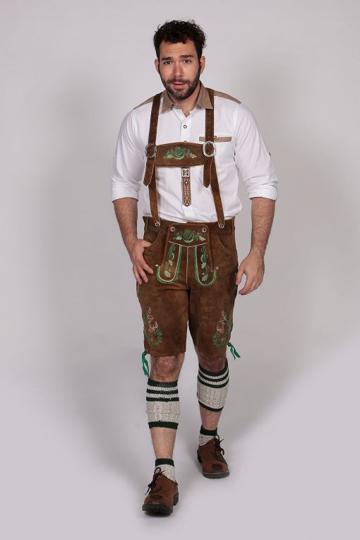 M-LED-10 - Lederhosen Green
