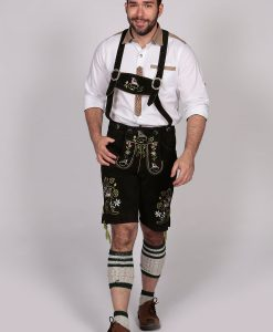 M-LED-14 - Black Lederhosen