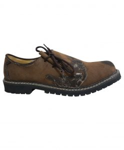 SHO-06-3 - Trachten Oktoberfest Brown Lederhosen Shoes