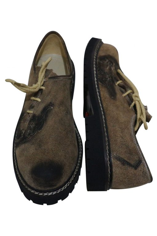 SHO-07-1 - Oktoberfest Original Leather Shoes for Lederhosen German