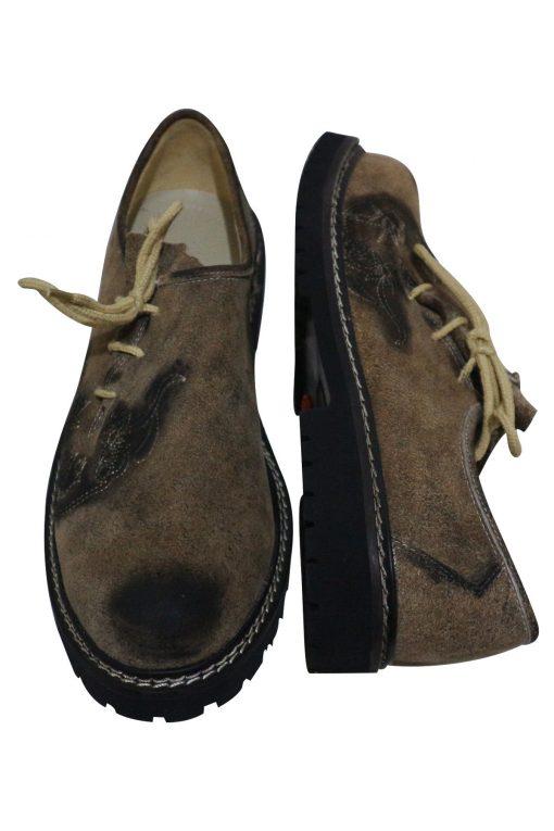 SHO-07-1 - Oktoberfest Original Leather Shoes for Lederhosen German