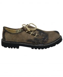 SHO-07-3 - Oktoberfest Original Leather Shoes for Lederhosen German