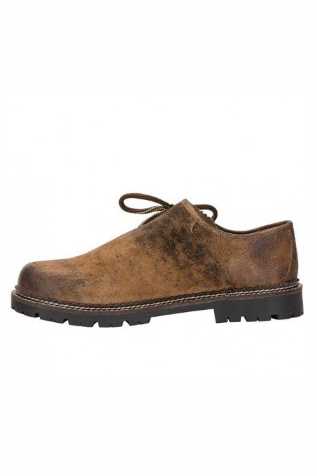 4acebd5f1139 German Lederhosen Shoes for Men Clean Brown - Lederhosen Store