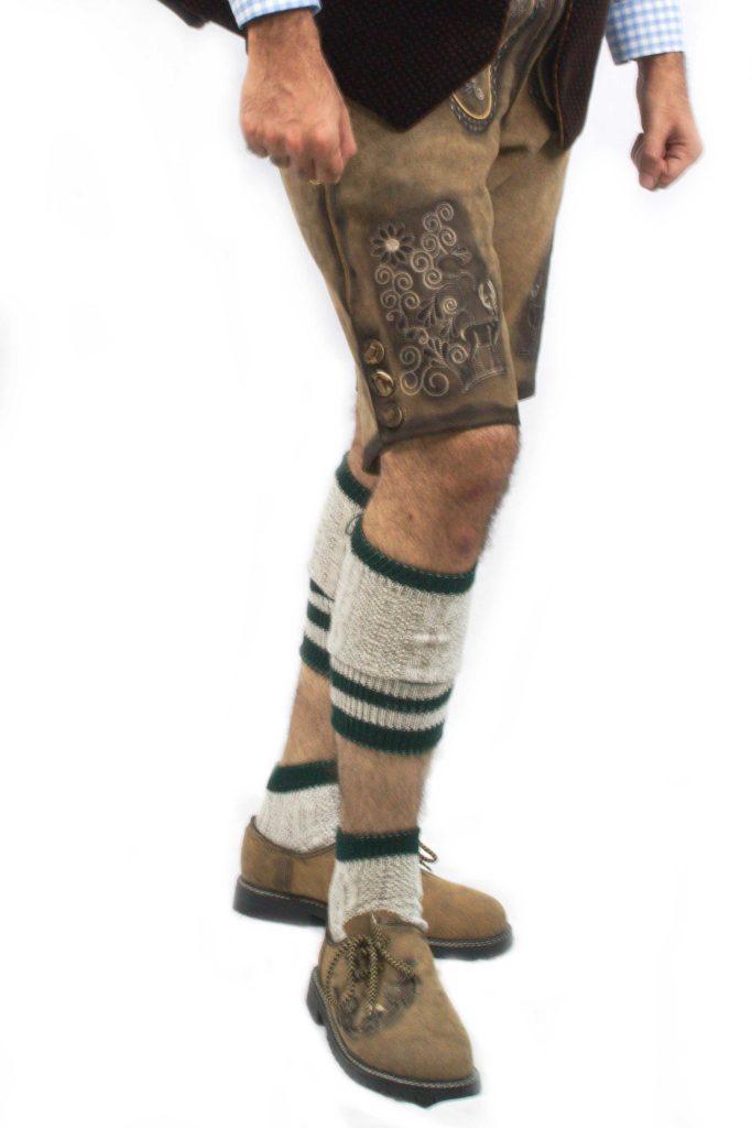 SO-02-1 - Bavarian Lofer Socks Oktoberfest Socks Lederhosen