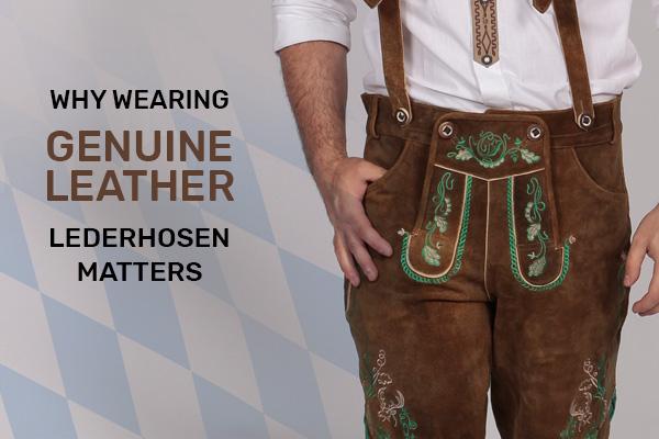 Genuine Leather Lederhosen
