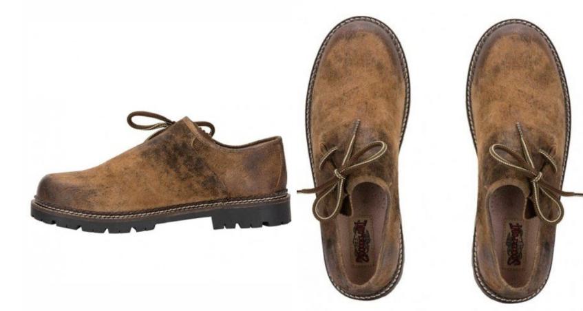 Lederhosen-shoes
